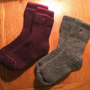Columbia Crew Socks - two pairs